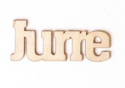 """""""Eigen tekst"""" letters"""