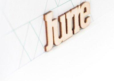 Jurre naam letters - Maatwerk - Berken multiplex