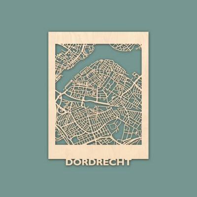 Citymap Dordrecht Berken (30x40) RENDER