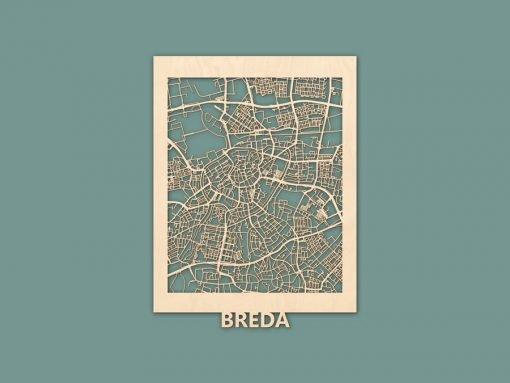 Citymap Breda Berken (30x40) RENDER
