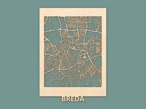 Citymap Breda Berken (50x70) RENDER