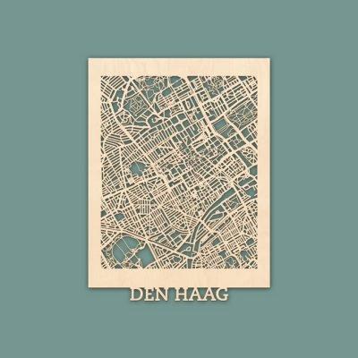 Citymap Den Haag Berken (30x40) RENDER