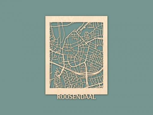 Citymap Roosendaal Berken (30x40) RENDER