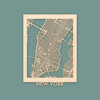 citymap New York berken 30x40 render