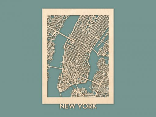 citymap New York berken 50x70 render