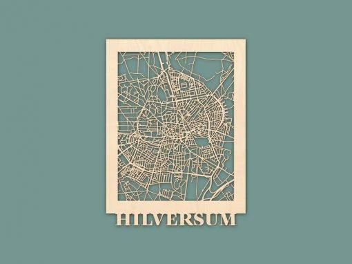 Citymap Hilversum Berken 30x40 RENDER