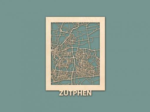 Citymap Zutphen 30x40 Render