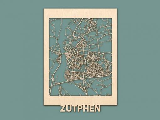 Citymap Zutphen 50x70 Render