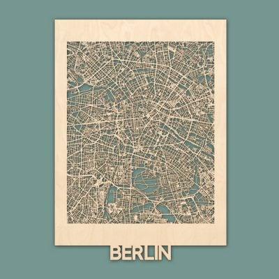 Citymap Berlin Berken 50x70 01