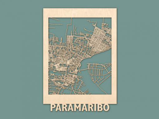 Citymap Paramaribo Berken
