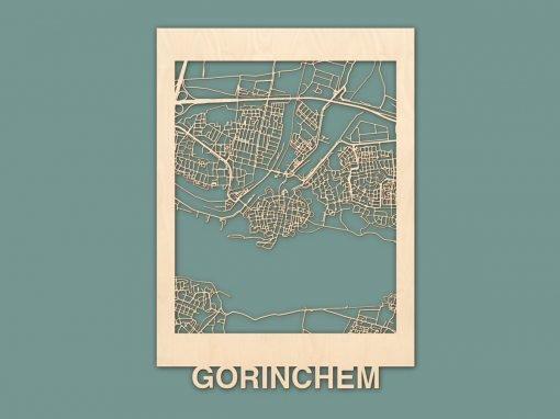 Citymap Gorinchem Berken 50x70cm RENDER