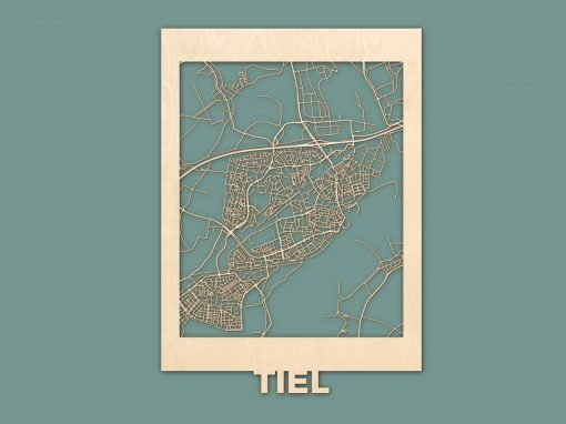 Citymap Tiel Berken 50x70cm RENDER
