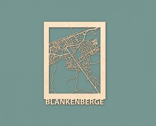Citymap Blankenberge Nieuwpoort Scheveningen Renesse Berken 30x40 RENDER 01