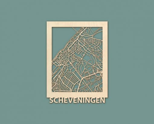 Citymap Blankenberge Nieuwpoort Scheveningen Renesse Berken 30x40 RENDER 02