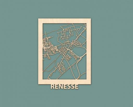 Citymap Blankenberge Nieuwpoort Scheveningen Renesse Berken 30x40 RENDER 04