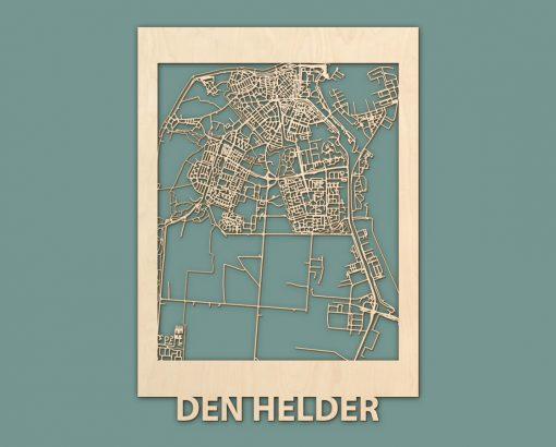 Citymap Den Helder Berken 50x70 RENDER 02