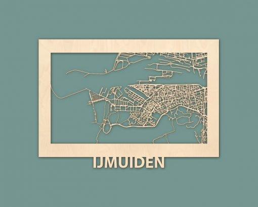 Citymap Ijmuiden De PanneBerken 50x70 RENDER 01