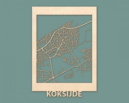 Citymap Koksijde Burgh Haamstede Berken 50x70 RENDER 01