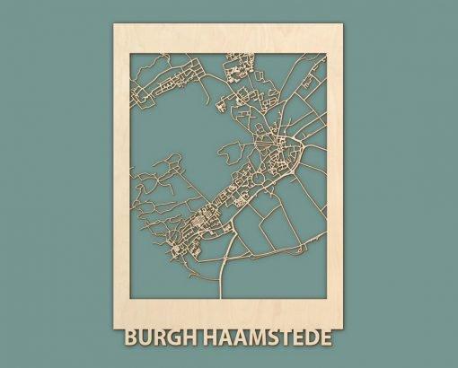 Citymap Koksijde Burgh Haamstede Berken 50x70 RENDER 02