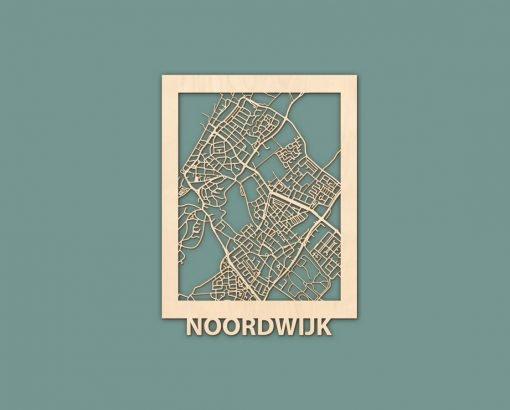 Citymap Noordwijk Katwijk Oostduinkerke De Haan Berken 30x40 RENDER 01