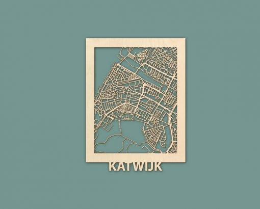Citymap Noordwijk Katwijk Oostduinkerke De Haan Berken 30x40 RENDER 02