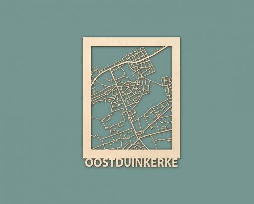 Citymap Noordwijk Katwijk Oostduinkerke De Haan Berken 30x40 RENDER 03