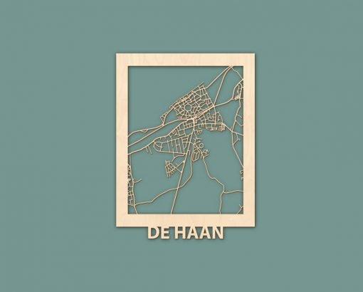 Citymap Noordwijk Katwijk Oostduinkerke De Haan Berken 30x40 RENDER 04