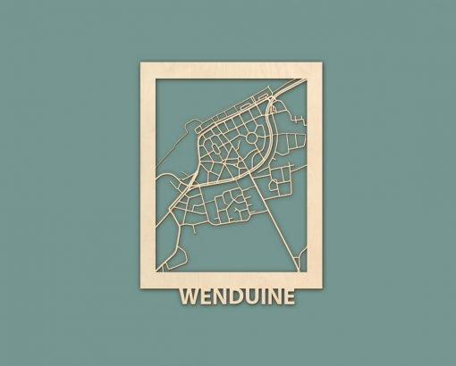 Citymap Westende Wenduine Sint Idesbald Callantsoog Egmond Ouddorp Berken 30x40 RENDER 02