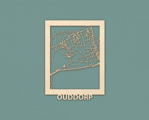 Citymap Westende Wenduine Sint Idesbald Callantsoog Egmond Ouddorp Berken 30x40 RENDER 05