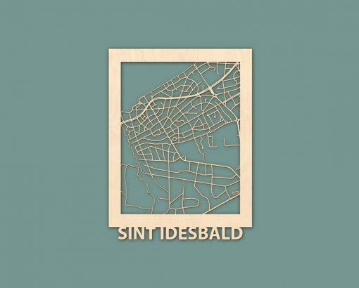 Citymap Westende Wenduine Sint Idesbald Callantsoog Egmond Ouddorp Berken 30x40 RENDER 06