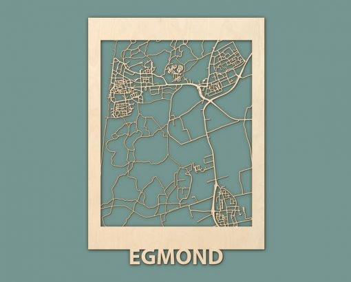 Citymap Westende Wenduine Sint Idesbald Callantsoog Egmond Ouddorp Berken 50x70 RENDER 05