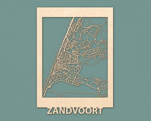 Citymap Zandvoort Berken 50x70 RENDER 04