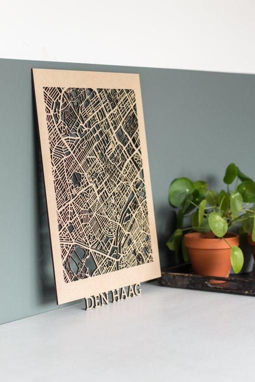Citymap Den Haag 30x40 MDF