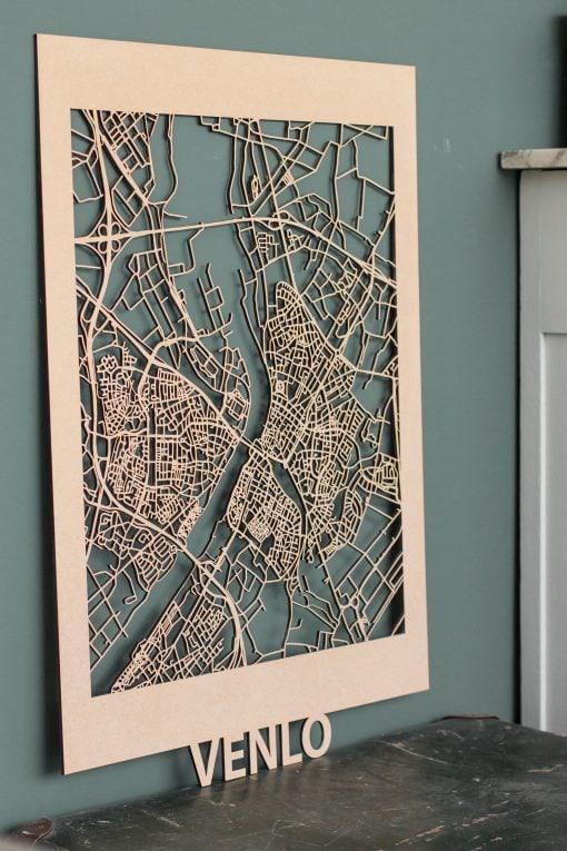 Citymap Venlo MDF (50x70cm) on cabinet
