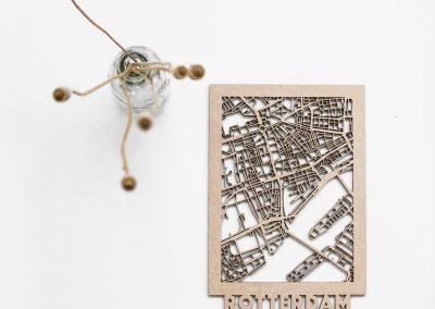 Minimap Rotterdam MDF citymap - 1