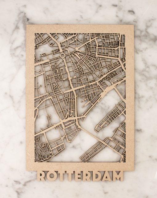 Minimap Rotterdam MDF citymap