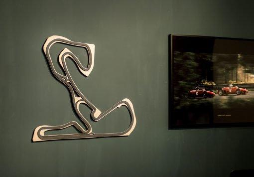 Zandvoort circuit aan de muur