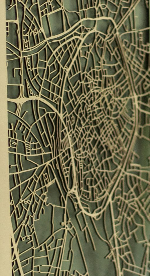 Brugge Citymap MDF