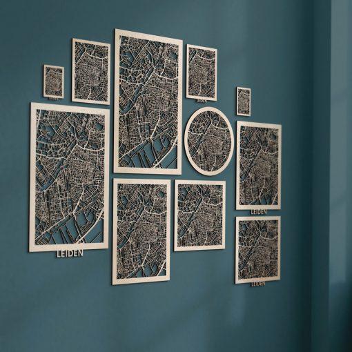 Citymaps Leiden Berken formaten overzicht