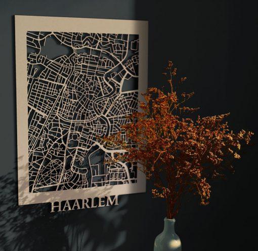 Haarlem Ciymap 30x40cm MDF